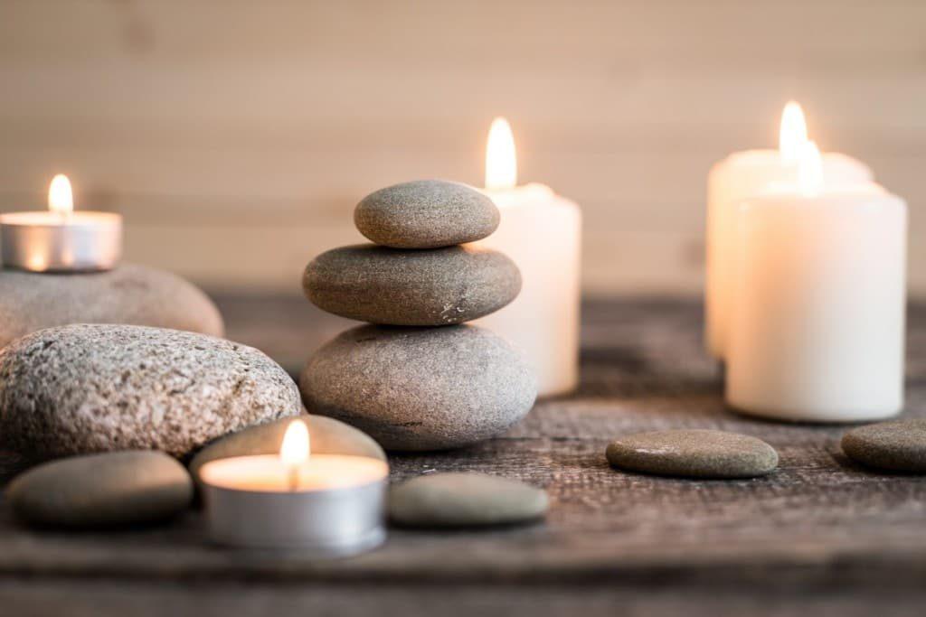 διακόσμηση με κεριά
