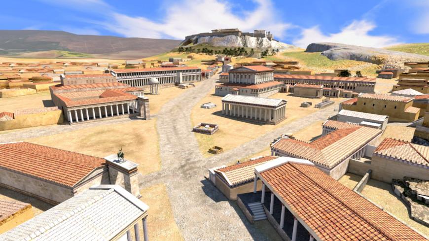 Τα τρισδιάστατα μοντέλα της αρχαίας Αθήνας από έναν Έλληνα animator
