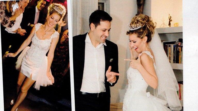 Αριελ Κωνσταντινίδη: Παντρεύτηκε με σούπερ μίνι στα 44