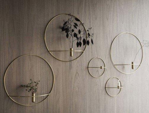 Γεωμετρικά σχήματα για διακόσμηση τοίχου
