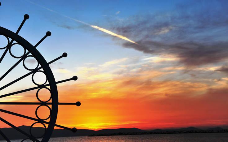 ηλιοβασίλεμα της Νάξου