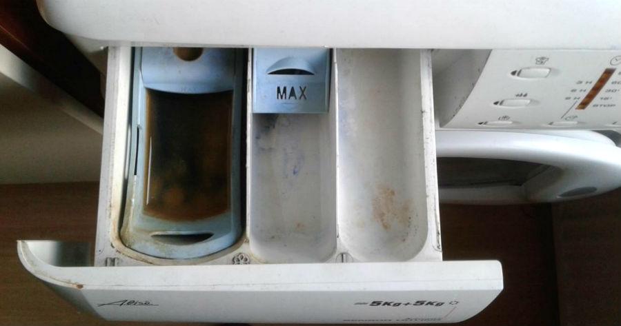 συρτάρι του πλυντηρίου