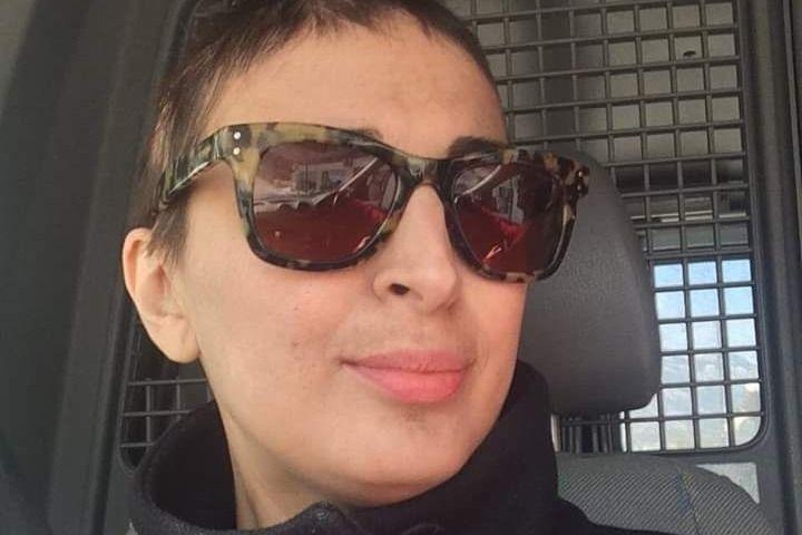 H Μαρία Βλάχου μετά την αφαίρεση του όγκου στο κεφάλι σε φωτό που είχε ποστάρει η ίδια στα social media
