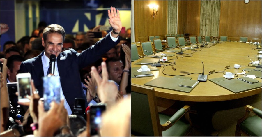 Η νέα κυβέρνηση του Κυριάκου Μητσοτάκη – Ονόματα έκπληξη για το υπουργικό συμβουλίου