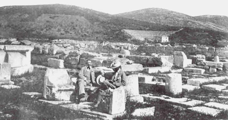 Ο Έλληνας αρχαιολόγος Παναγής Καββαδίας
