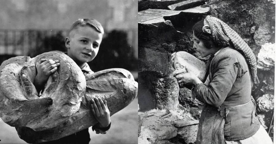 η ιστορία του ψωμιού στην Ελλάδα
