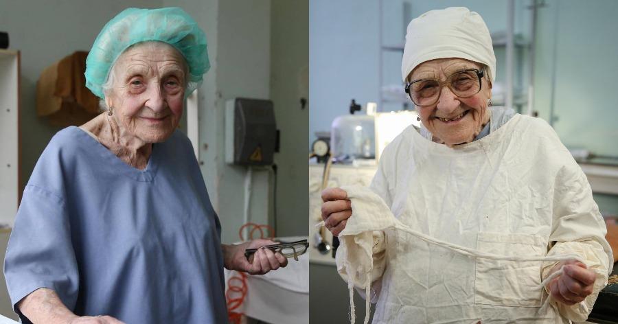 91χρονη χειρουργός