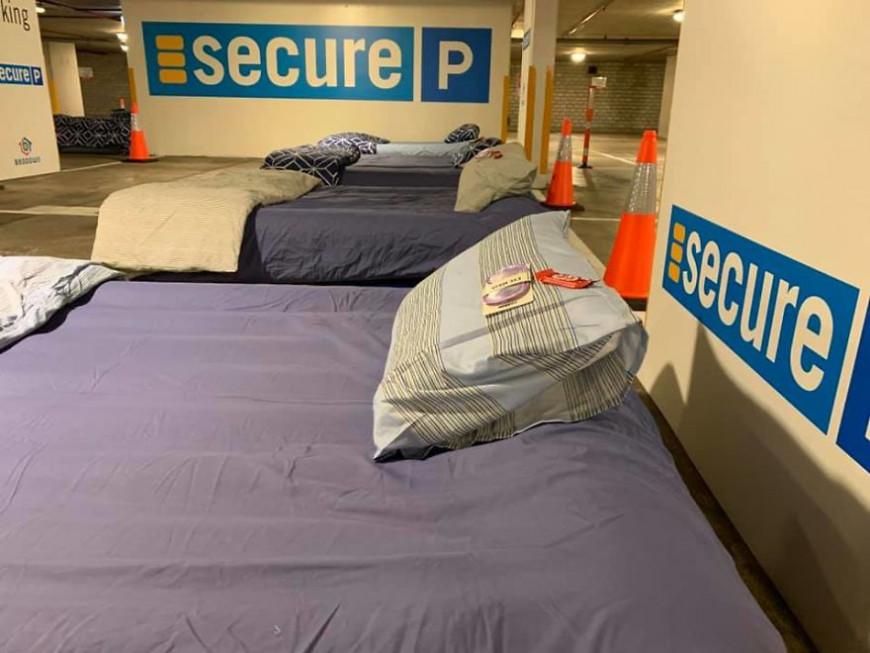 Κρεβάτια για άστεγους