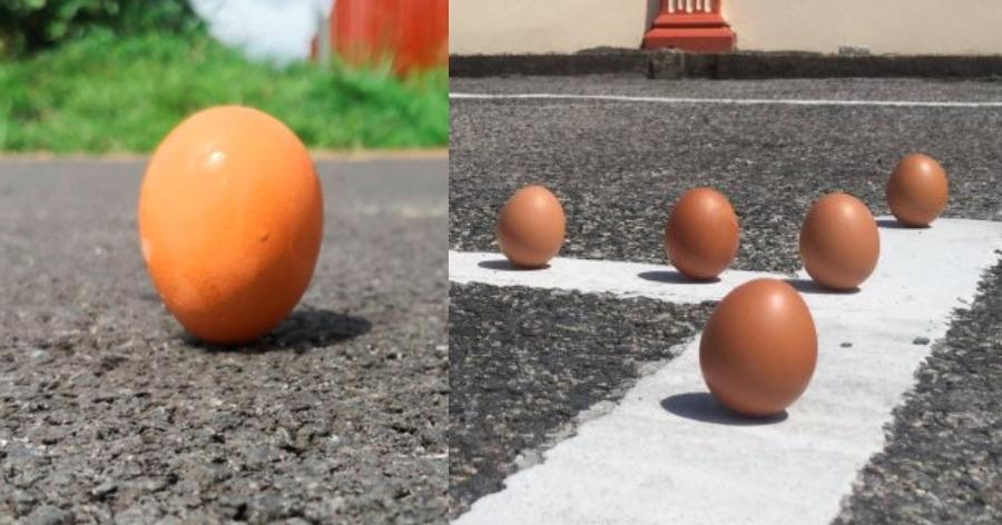 Πείραμα με αυγό