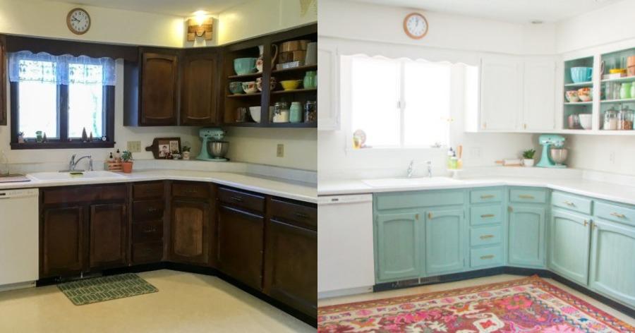 αλλαγή ντουλαπιών κουζίνας