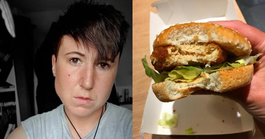 vegan χάμπουργκερ KFC