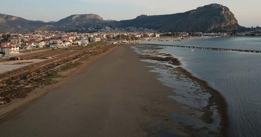 Θάλασσα στο Ναύπλιο