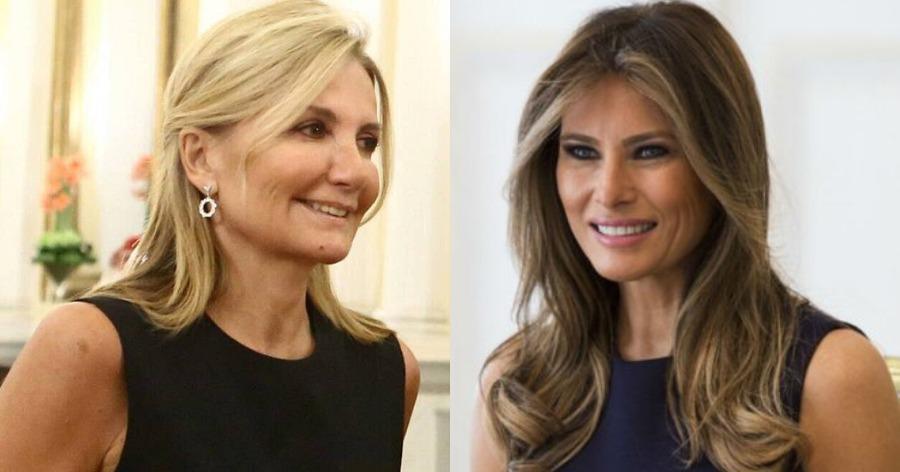 πρώτες κυρίες Αμερικής και Ελλάδας