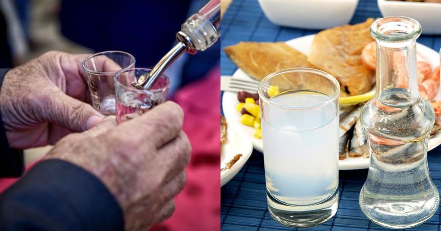 τέλος σε χύμα τσικουδιά και τσίπουρο