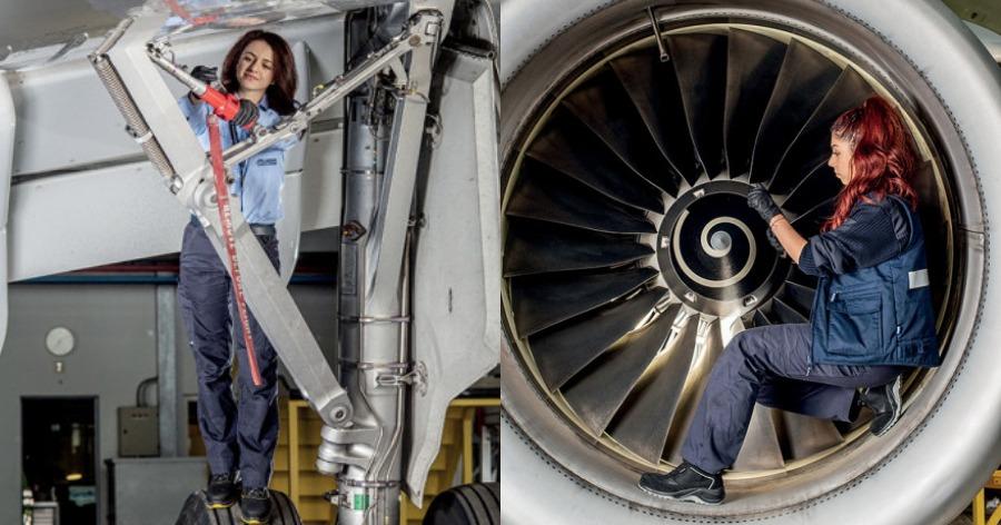 Συντήρηση αεροσκαφών