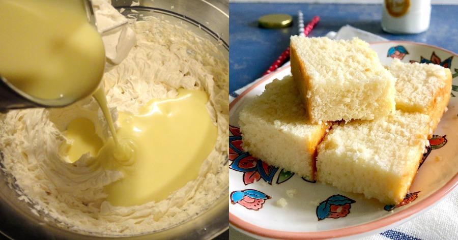 αφράτο και μαλακό κέικ