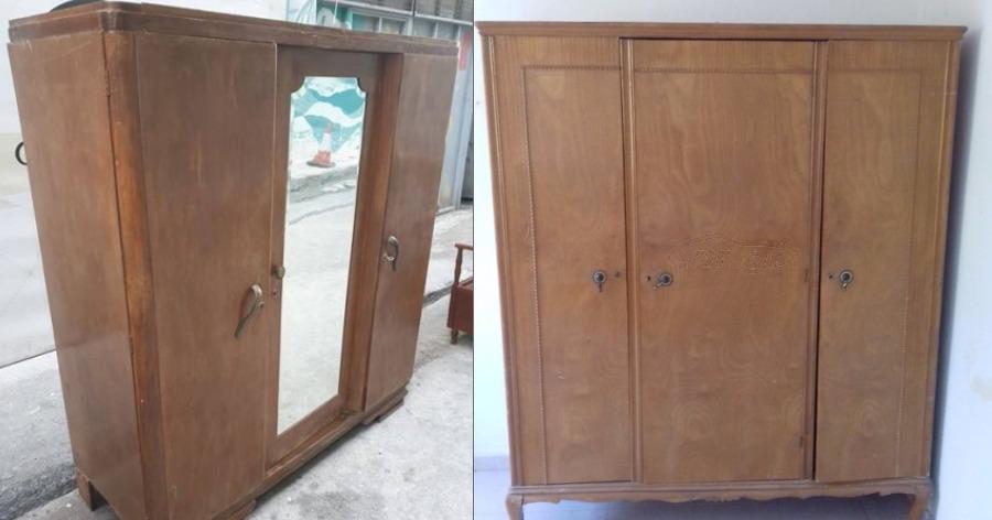μετατροπή παλιάς ντουλάπας