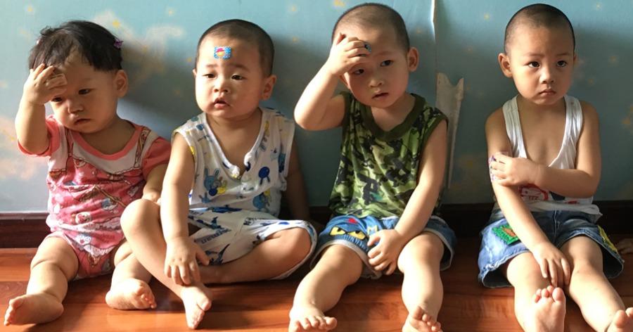 μόνα παιδιά στην Κίνα