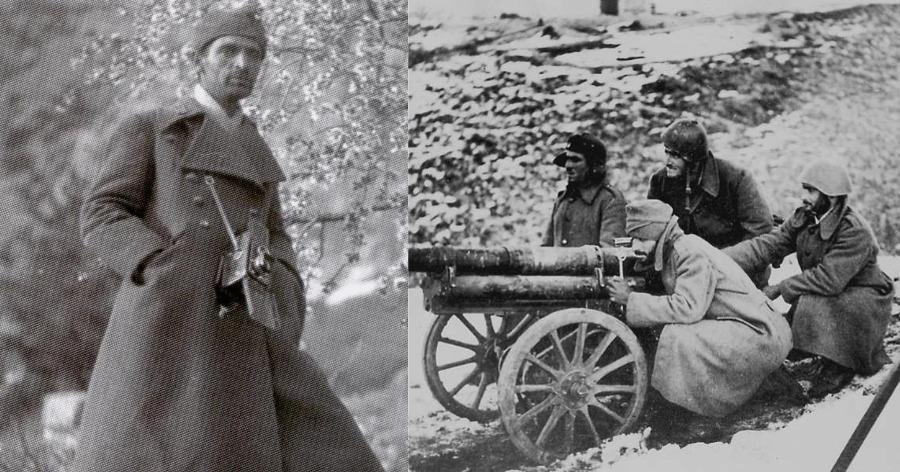 πολεμικός φωτορεπόρτερ στο Αλβανικό Μέτωπο