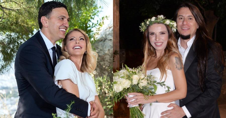 οι λαμπεροί γάμοι του 2019