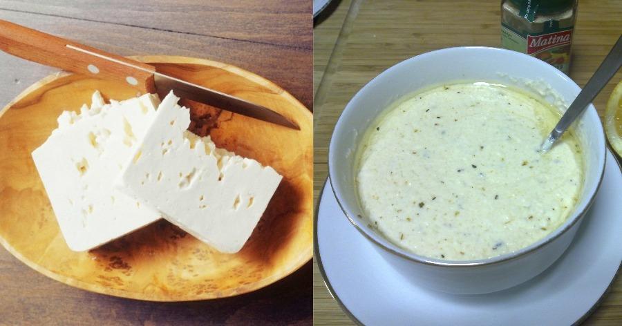 Σάλτσα φέτας