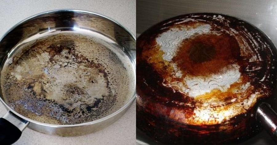 παλιό τηγάνι
