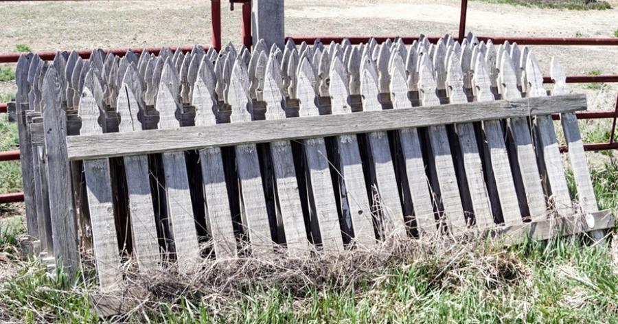 παλιός φράχτης