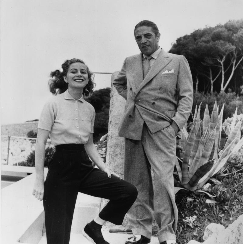 Το 1946 η 17χρονη Τίνα και ο 46χρονος Ωνάσης παντρεύτηκαν στην Νέα Υόρκη