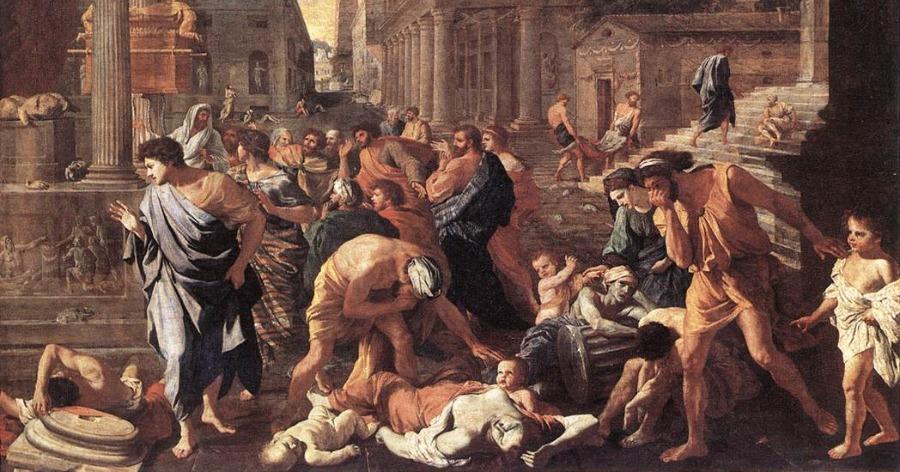 Ο μεγάλος λοιμός στην Αρχαία Αθήνα και οι ομοιότητές του με την πανδημία του κορωνοϊού