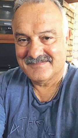 Ο Ιωάννης µία µέρα αφότου έφτασε στην Αθήνα, το 2018.
