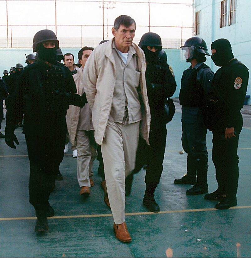 Η σύλληψη του Μιγκέλ Άνχελ Φέλιξ Γκαγιάρδο.