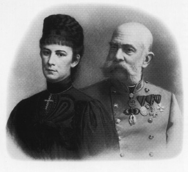 Η Σίσσυ και ο Φραγκίσκος την εποχή της δολοφονίας της αυτοκράτειρας