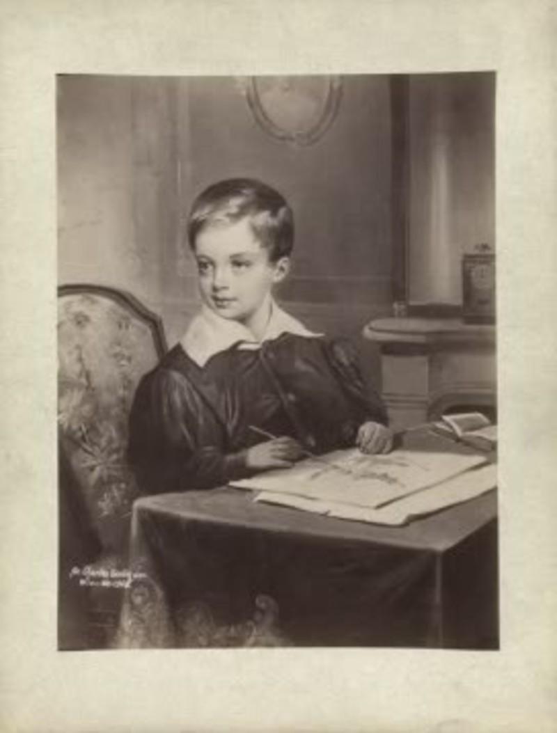 Ο Φραγκίσκος Ιωσήφ σε ηλικία 5 ετών
