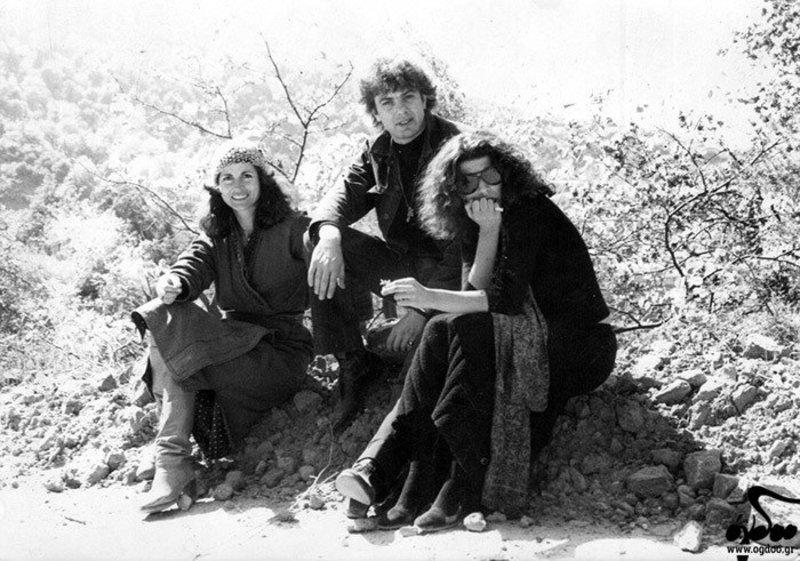 Δέσποινα Τομαζάνη, Παύλος Σιδηρόπουλος και Γιόλα Αναγνωστοπούλου (Φωτογραφία: Τόλης Μαστρόκαλος, 1978)