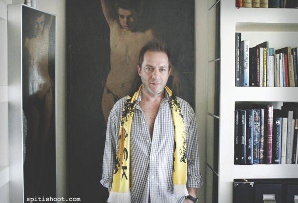Εικόνες από το σπίτι του Δημήτρη Λιγνάδη.