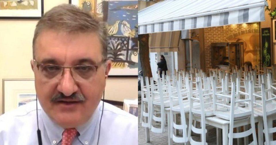 Οι δηλώσεις του Αθανάσιου Εξαδάκτυλου για το lockdown.