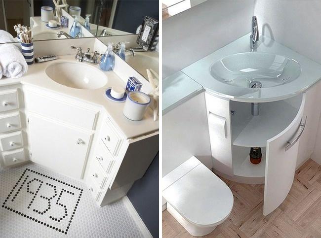 Ιδέες Διακόσμησης για μικρό μπάνιο