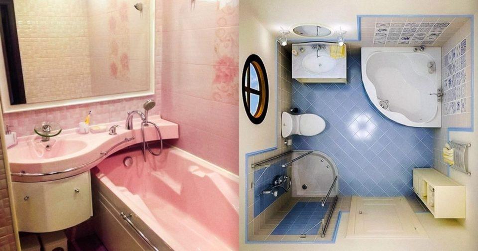 Διακόσμηση μικρού μπάνιου