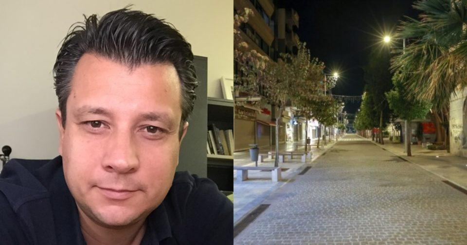 Μανώλης Δερμιτζάκης lockdown