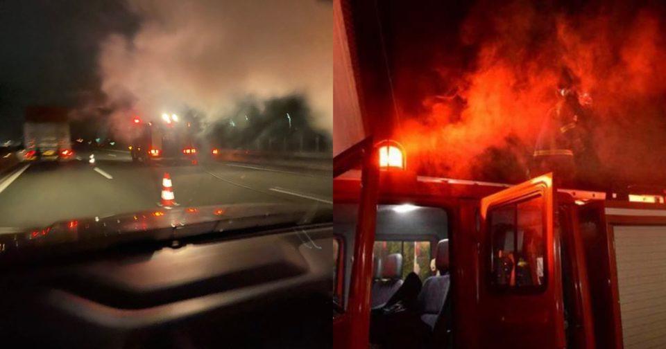 Επίθεση σε φορτηγό και σε τράπεζα της Θεσσαλονίκης.