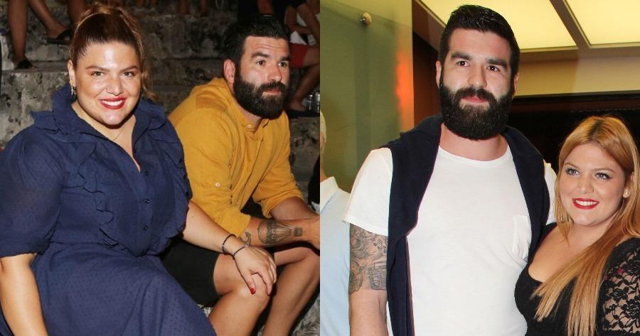 Δανάη Μπάρκα και Πάνος Αδαμόπουλος χώρισαν