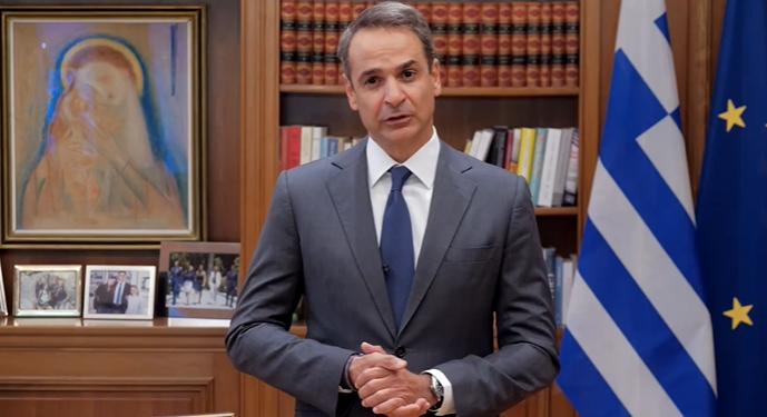 Η ανακοίνωση του Κυριάκου Μητσοτάκη για τα νέα μέτρα και το χάρισμα της επιστρεπτέας προκαταβολής.
