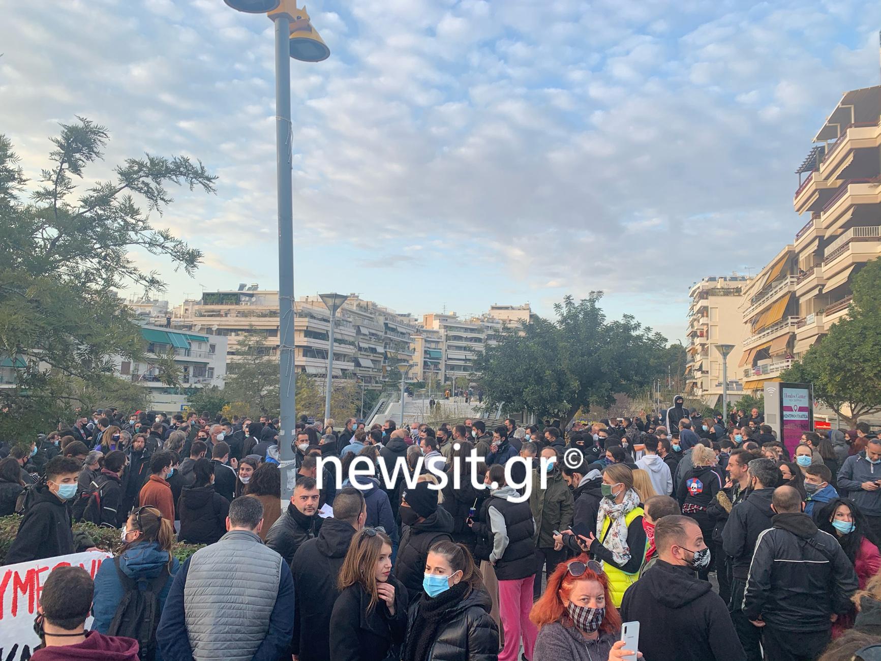 πορεία κατά της αστυνομικής βίας