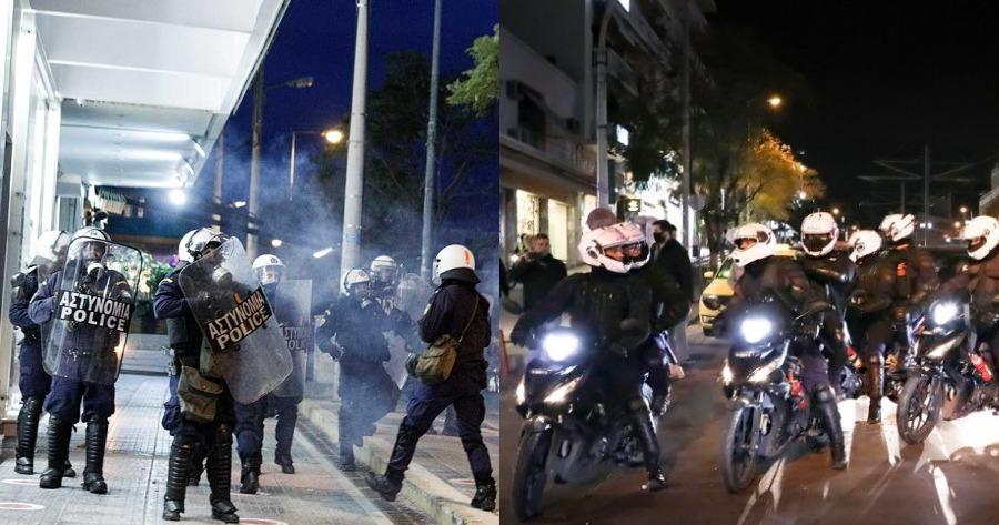 Η αντίδραση του αστυνομικού και των ανδρών από την ομάδα «Δράση»