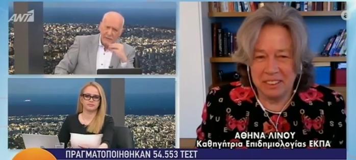 Οι δηλώσεις της Αθηνάς Λινού για  τα νέα μέτρα.