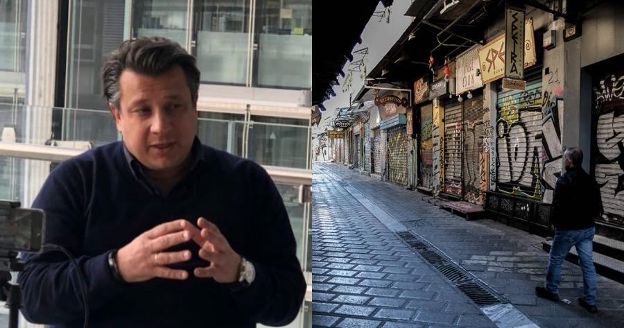 Οι δηλώσεις του Μανώλη Δερμιτζάκη για το lockdown.