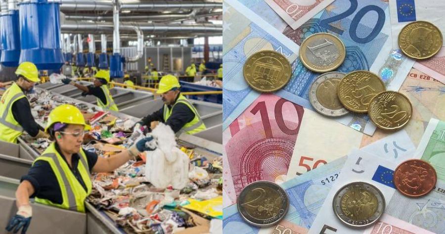 Οι περισσότεροι εργαζόμενοι λαμβάνουν έως 500 ευρώ ανά μήνα.