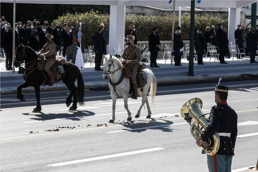 παρελαση ελληνικη επανασταση