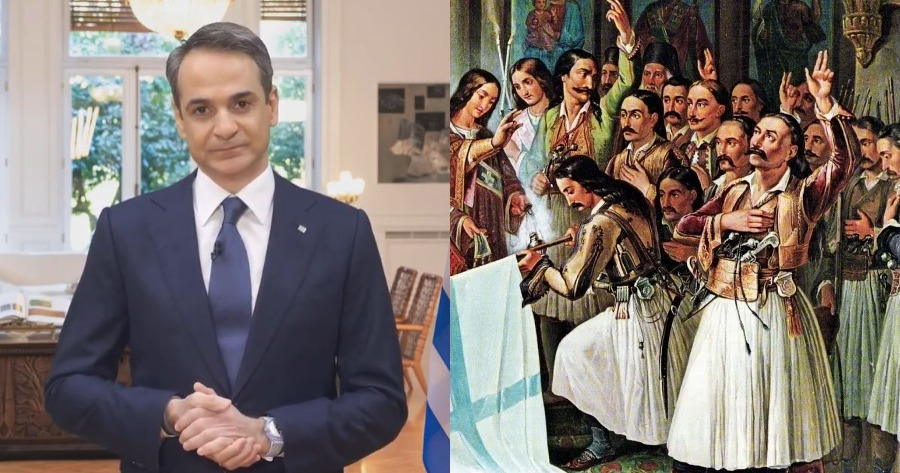 Δηλώσεις Κυριάκου Μητσοτάκη: Το μήνυμα του πρωθυπουργού, λόγω 25ης Μαρτίου.