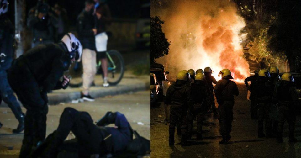 Νέα Σμύρνη - τραυματίας αστυνομικός